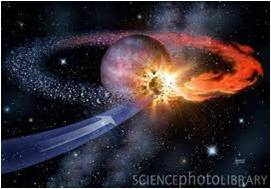 SEE & HEAR HOW PLANET NIBIRU SMOTE PROTO-EARTH 4 BILLION YEARS AGO