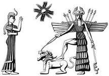 Ereshkigal confronted Inanna