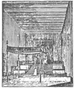 Inside Enki's ziggurat at Eridu, Persian Gulf.