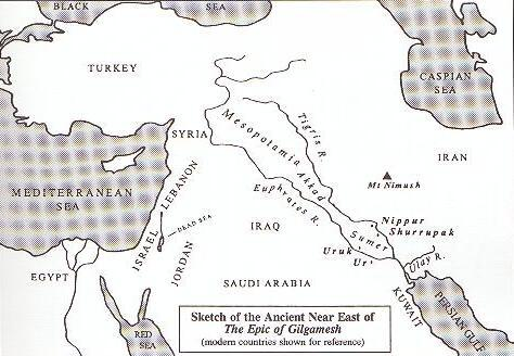 Gilgamesh Map