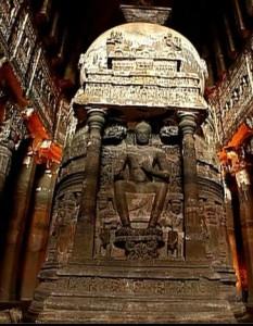 Buddha in Vimana