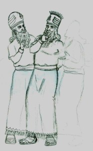 Enlil, the Heir, lobbies King Anu to send him to Earth to check on Brother Enki
