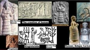 Ninmah, Ningishzidda, Creation of Lulu Adam [v