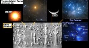 Nibiru, Pleiades, Earth's Moon, Solaris, Taurus, Alderbaran, Pliedies