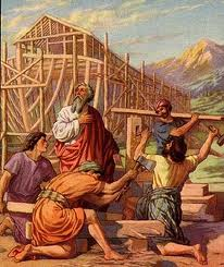Noah's ark building