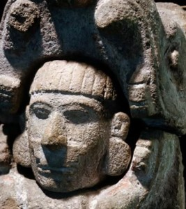 Maya-Kuklukan-Emerging-from-his-craft-3-shown-as-Serpents-head