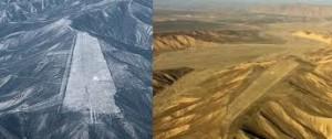 Rocket runway, Nazca, Peru