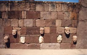 The Pumapunku Wall of heads of all beings on Earth