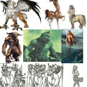 GENETICISTS FROM NIBIRU MADE CENTAURS, MINOTARS, CHIMERAS, MERMAIDS, CYCLOPS, GRIFFINS & US–Web Radio, Article, Pix