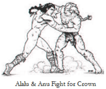 1      Alalu Anu fight