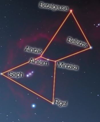 Orion's stars