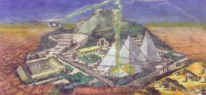 Pyramid as power house