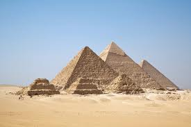 Giza's 3 pyramids  3