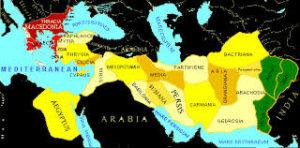 Alexander invasion route
