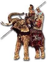 Alexander on elephant
