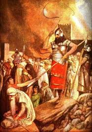 Cyrus of Persia Takes Babylon