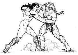 Anu challenged Alalu to wrestle for Nibiru's Crown