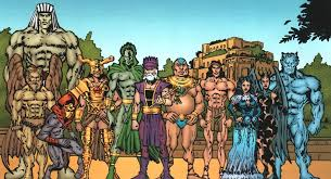 How Marvel Comics sees the Anunnaki gods