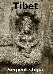 Stupa, Nepal w Naga