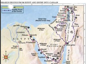 Exodus route