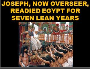 Joe oversees Egypt