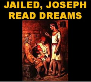 Joe reads dreams in Jail