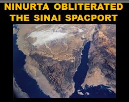 Ninurta killed the spaceport