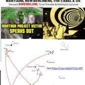 Time Traveler & Mauntauk Survivor Swerdlow & The Cabal, New Berliners & ETs of Lyra, Draco, Pleiadies, Mars, Venus and New Berlin beneath Antarctica