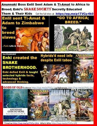 ENKI (Lucifer) CREATED THE SNAKE* BROTHERHOOD TO GIVE US KNOWLEDGE